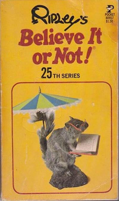 Cover for Ripley's Believe It or Not! (Pocket Books, 1941 series) #25