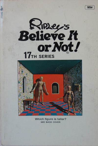 Cover for Ripley's Believe It or Not! (Pocket Books, 1941 series) #17
