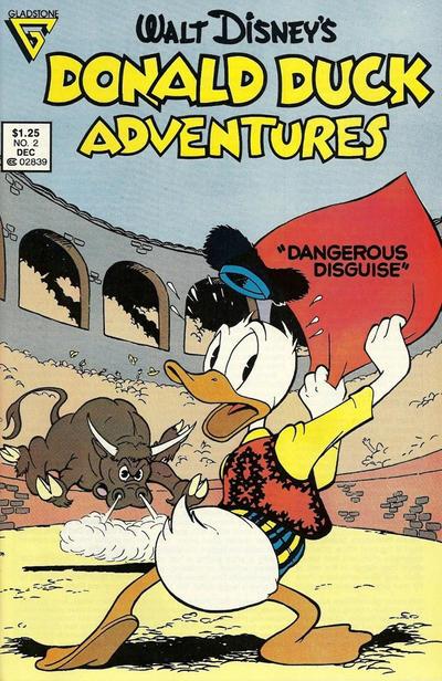 Cover for Walt Disney's Donald Duck Adventures (Gladstone, 1987 series) #2