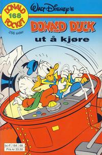 Cover Thumbnail for Donald Pocket (Hjemmet / Egmont, 1968 series) #168 - Donald Duck ut å kjøre [1. opplag]