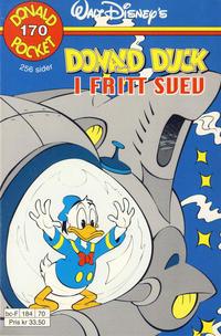 Cover Thumbnail for Donald Pocket (Hjemmet / Egmont, 1968 series) #170 - Donald Duck i fritt svev [1. opplag]