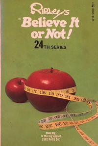 Cover Thumbnail for Ripley's Believe It or Not! (Pocket Books, 1941 series) #24