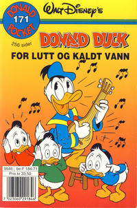 Cover Thumbnail for Donald Pocket (Hjemmet / Egmont, 1968 series) #171 - Donald Duck for lutt og kaldt vann [1. opplag]