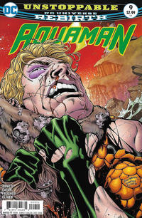 Cover Thumbnail for Aquaman (DC, 2016 series) #9 [Brad Walker / Drew Hennessy Cover]