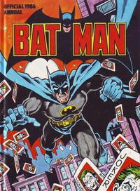 Cover Thumbnail for Batman Annual (Egmont UK, 1979 series) #1986