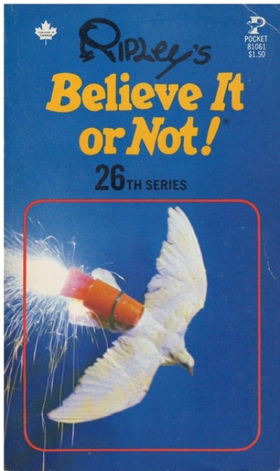 Cover for Ripley's Believe It or Not! (Pocket Books, 1941 series) #26