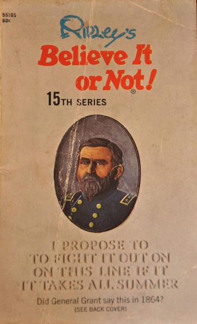 Cover for Ripley's Believe It or Not! (Pocket Books, 1941 series) #15 [Seventh Printing]