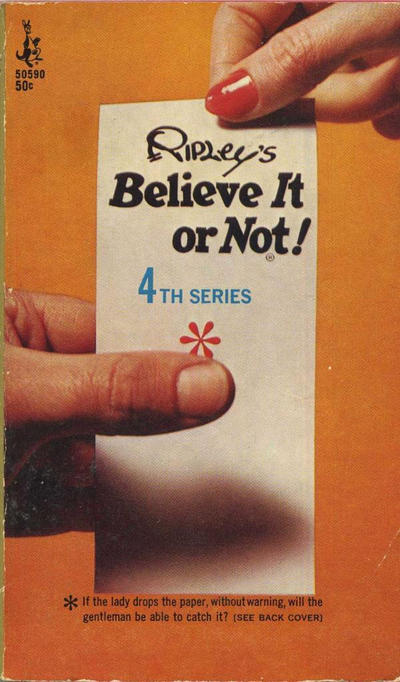 Cover for Ripley's Believe It or Not! (Pocket Books, 1941 series) #4 [50590]