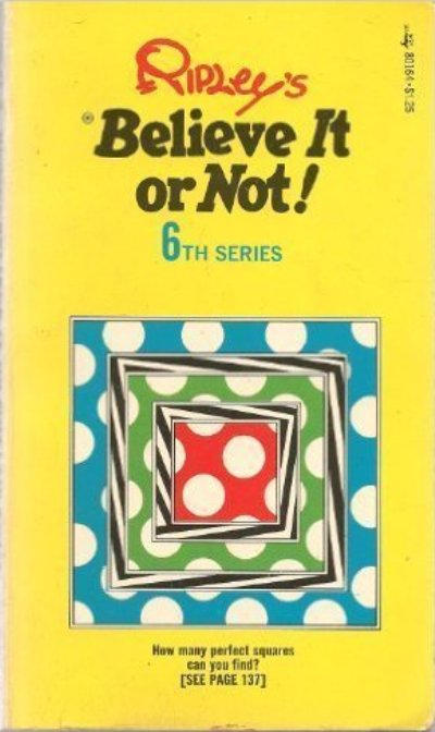 Cover for Ripley's Believe It or Not! (Pocket Books, 1941 series) #6