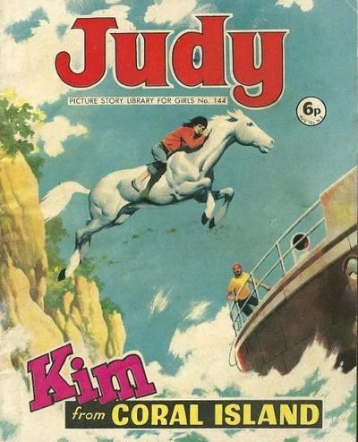 Cover for Judy Picture Story Library for Girls (D.C. Thomson, 1963 series) #144