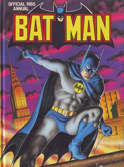 Cover for Batman Annual (Egmont UK, 1979 series) #1985