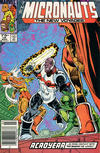 Cover for Micronauts (Marvel, 1984 series) #18 [Newsstand]