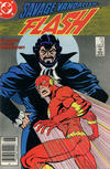 Cover for Flash (DC, 1987 series) #13 [Newsstand]