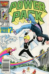 Cover for Power Pack (Marvel, 1984 series) #22 [Newsstand Edition]