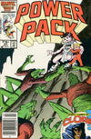 Cover for Power Pack (Marvel, 1984 series) #24 [Newsstand Edition]