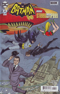 Cover Thumbnail for Batman '66 Meets Steed and Mrs. Peel (DC, 2016 series) #4