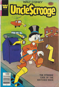 Cover Thumbnail for Uncle Scrooge (Western, 1963 series) #168 [Whitman]
