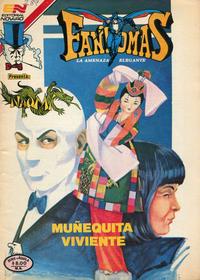 Cover Thumbnail for Fantomas (Editorial Novaro, 1969 series) #587