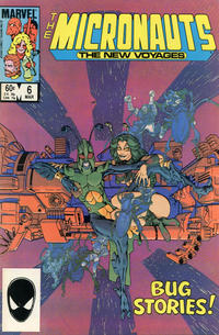 Cover Thumbnail for Micronauts (Marvel, 1984 series) #6 [Direct]