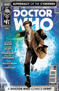 Cover Thumbnail for Doctor Who: Supremacy of the Cybermen (Titan, 2016 series) #4 [Cover A]
