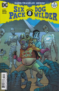Cover Thumbnail for Sixpack and Dogwelder: Hard Travelin' Heroz (DC, 2016 series) #3