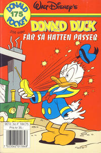 Cover Thumbnail for Donald Pocket (Hjemmet / Egmont, 1968 series) #175 - Donald Duck får så hatten passer [1. opplag]