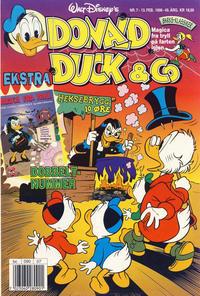 Cover Thumbnail for Donald Duck & Co (Hjemmet / Egmont, 1948 series) #7/1996