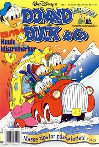 Cover Thumbnail for Donald Duck & Co (Hjemmet / Egmont, 1948 series) #13/1996