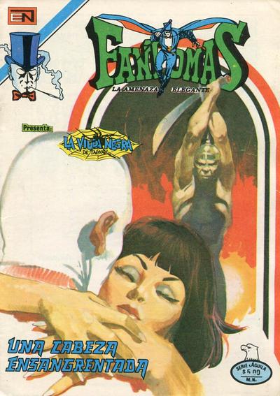 Cover for Fantomas (Editorial Novaro, 1969 series) #515