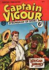 Cover for Captain Vigour (L. Miller & Son, 1952 series) #1