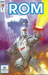 Cover for ROM (IDW, 2016 series) #1 [Starbase 1552 Comics Exclusive Cover by Dave Dorman]