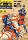 Cover for Illustrerte Klassikere [Classics Illustrated] (Illustrerte Klassikere / Williams Forlag, 1957 series) #12 - Riddere av det runde bord [2. opplag]