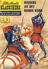 Cover Thumbnail for Illustrerte Klassikere [Classics Illustrated] (1957 series) #12 - Riddere av det runde bord [2. opplag]