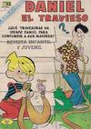 Cover for Daniel el Travieso (Editorial Novaro, 1964 series) #61