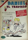 Cover for Daniel el Travieso (Editorial Novaro, 1964 series) #134