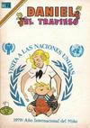 Cover for Daniel el Travieso (Editorial Novaro, 1964 series) #290