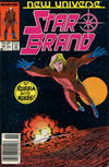 Cover for Star Brand (Marvel, 1986 series) #10 [Newsstand Edition]