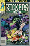 Cover for Kickers, Inc. (Marvel, 1986 series) #3 [Newsstand]
