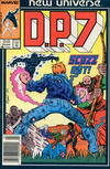 Cover for D.P. 7 (Marvel, 1986 series) #5 [Newsstand]