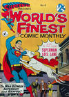 Cover for Superman Presents World's Finest Comic Monthly (K. G. Murray, 1965 series) #4