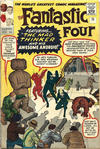 Cover for Fantastic Four (Marvel, 1961 series) #15 [British Price Variant]