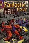 Cover for Fantastic Four (Marvel, 1961 series) #43 [British Price Variant]