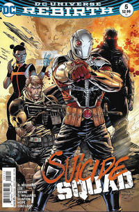Cover Thumbnail for Suicide Squad (DC, 2016 series) #5 [Jim Lee / Scott Williams Cover]