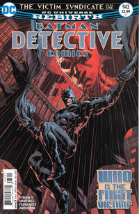 Cover Thumbnail for Detective Comics (DC, 2011 series) #943