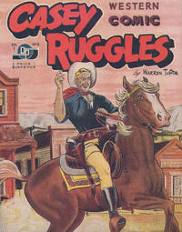 Cover Thumbnail for Casey Ruggles Western Comic (Donald F. Peters, 1951 series) #8