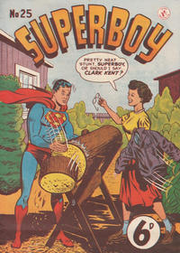 Cover Thumbnail for Superboy (K. G. Murray, 1949 series) #25