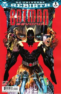 Cover for Batman Beyond (DC, 2016 series) #1
