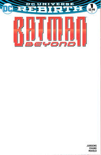 Cover Thumbnail for Batman Beyond (DC, 2016 series) #1 [Blank Cover]