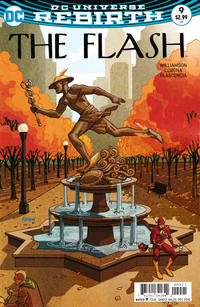 Cover Thumbnail for The Flash (DC, 2016 series) #9 [Dave Johnson Variant Cover]