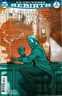 Cover Thumbnail for Hellblazer (DC, 2016 series) #3
